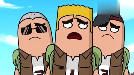 香肠派对:老四演技可以啊,在这虐掉线的,整得跟敌人决斗一样!