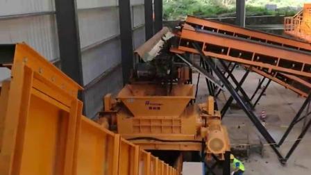 陈腐垃圾(RDF)细破碎 ,生活垃圾破碎系统整线生产