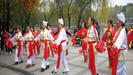 舞蹈《大家喜欢》宝鸡陕北秧歌队