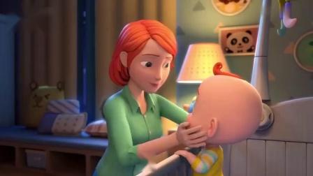 超级宝贝:外面流星划过,屋内温馨有爱,那真幸福