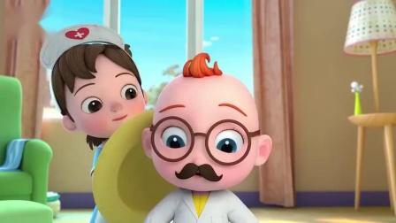 超级宝贝:小宝贝力气大,弄坏了玩具,得要修理