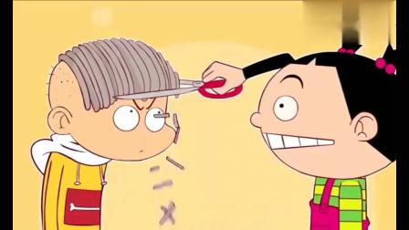 搞笑阿衰:阿衰用假货竟变成了秃头
