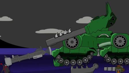 坦克世界:小哥斯拉是坦克修理师