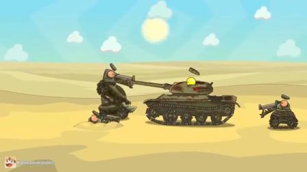 坦克世界:小鬼坦克很难缠