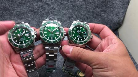 ZZV3 ZF VS 绿水鬼直面对比 最强水鬼对对碰  究竟谁最强