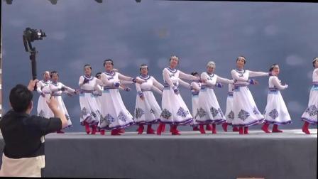 """菏泽市""""亿联新康庄杯""""2020年度全民健身广场舞大赛决赛"""