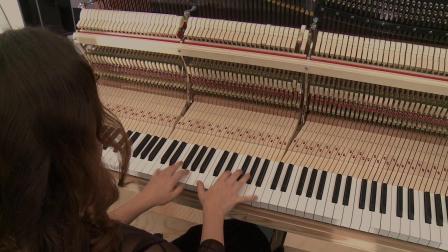最高的立式钢琴试奏