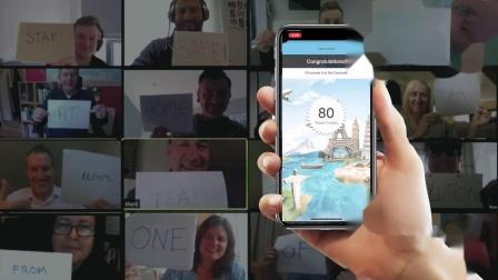 世界环游记 - 虚拟线上团建活动方案