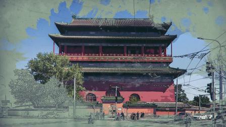 清华建筑设计院出品《望中轴》-北京申遗系列特展宣传片