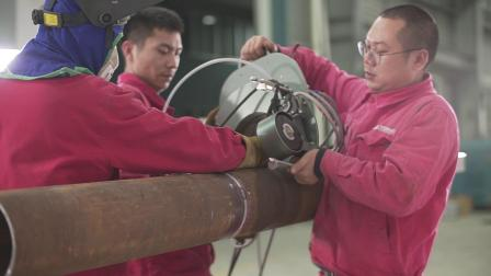 熊谷管道全位置自动焊机提供集输场站焊接解决方案