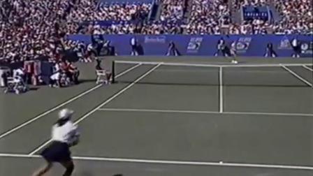【自制HL】塞莱斯vs神尾米 1995年美网女单第三轮