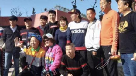 2020。11上海巴建国、印琦胜、天津石磊三位老师在杨浦大桥空竹场精彩展示