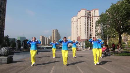 (翻拍)云朵王健身操云系列第九套短视频-邻水开心支队领操
