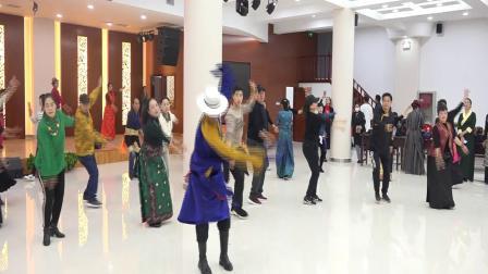 兰州市锅庄舞协会那曲锅庄培训班
