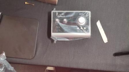 Audient ID14专业声卡开箱和驱动安装 小钢炮声卡开箱 来自于英国的专业录音声卡