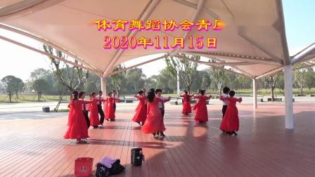 吉安市体育舞蹈协会青原区滨江公园演出