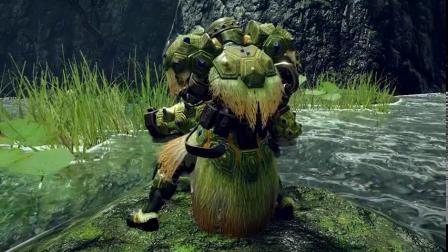 【游民星空】《怪物猎人:崛起》河童蛙素材装备展示
