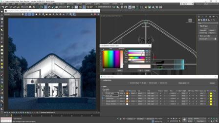 V-Ray Next for 3ds Max – 如何照明室外夜景
