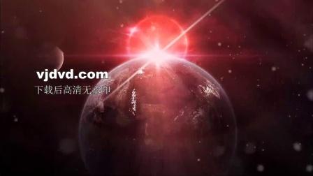 红色星宿星空星星宇宙空间动态壁纸舞台背景无缝循环视频素材