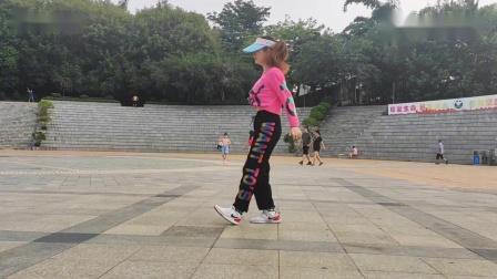 广场曳步舞《美丽绽放》