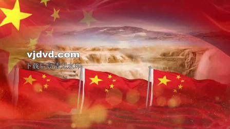 美丽中国诗歌朗诵配乐伴奏舞台演出LED背景大屏幕视频素材4分06秒...