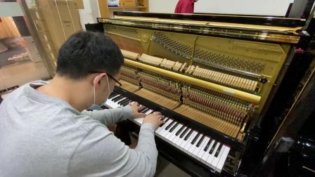 高端二手钢琴雅马哈ux1 4193198
