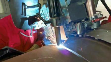 熊谷管道全自动焊机,实现大管的快速根焊