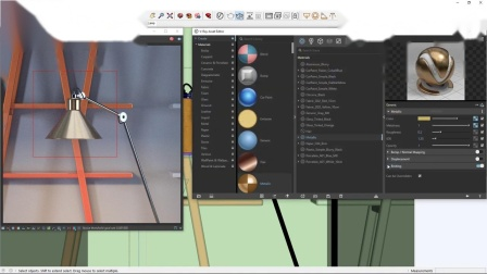 V-Ray Next for SketchUp – 如何创建和使用材质