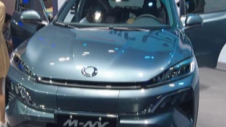 质趣纯电动车M-NV领衔 东风Honda亮相广州车展