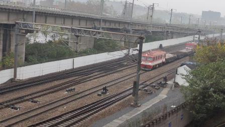 京沪线工务小火车
