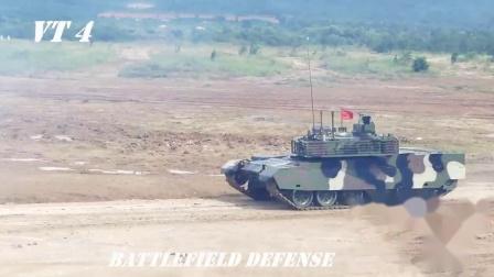 """泰国陆军VT-4 VS T-84""""堡垒M"""""""