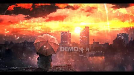 歌曲配乐 a900 超唯美梦幻彩色天空下雨雨水雨伞卡通美少女二次元学校高中大学初中毕业晚会唱歌跳舞大屏幕舞台LED背景视频素材 歌曲配乐视频 大屏素材