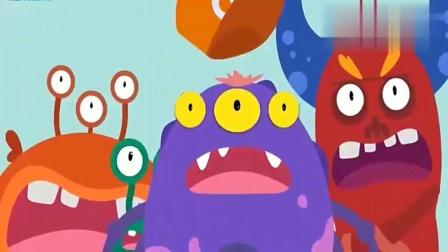 宝宝巴士:垃圾被处理掉了,细菌被吓得赶紧跑