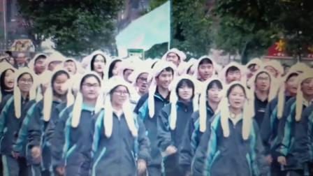 永州四中2007班体育文化节健身运动会入场剪影