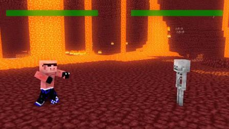 我的世界动画:僵尸射中苦力怕,猪人关键时刻发威