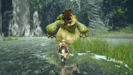 "【3DM游戏网】《怪物猎人:崛起》""烟雪鼬"""