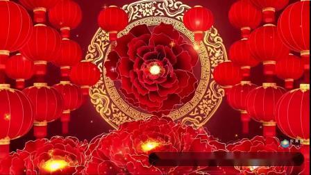 S2305 《欢天喜地过大年》少儿舞蹈 喜庆中国风春节春晚舞蹈舞美LED背景视频素材