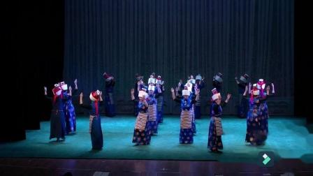 兰州市锅庄舞协会培训班学员《娜秀民间锅庄》