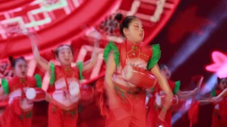 2020银河之星全国少儿舞蹈展演 单位:绥德县李雨舞蹈培训中心 节目:《欢乐腰鼓》
