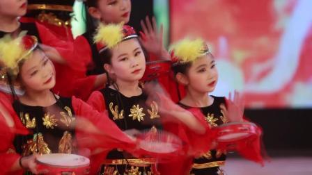 2020银河之星全国少儿舞蹈展演 单位:神木市朵朵乐培训部 节目:《舞起幸福鼓》