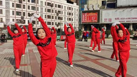 大足区龙水镇重客隆健身队庆2020-2021年拜会全集