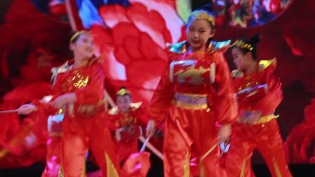 2020银河之星全国少儿舞蹈展演 单位:榆林市灿灿舞蹈培训中心 节目:《鼓动天地》