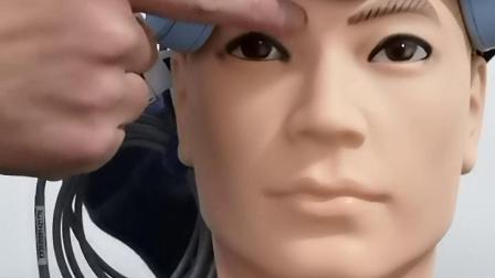 经颅磁刺激仪9头治疗帽佩戴方法