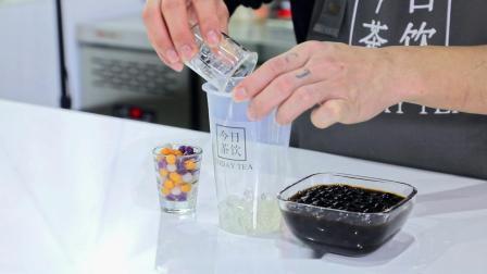 喜茶 厚烧蛋糕波波奶茶——今日茶饮免费奶茶培训 饮品配方做法制作视频教程