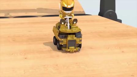 麦克斯的推土机放进黄色的油漆里变成什么颜色