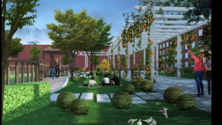 学校景观.校园景观设计案例效果图