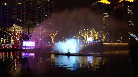 2021春节-锦江之夜