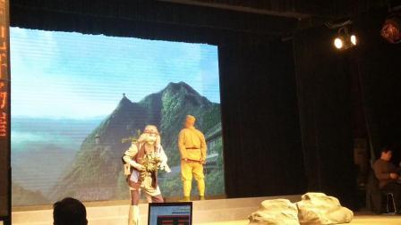 龙口市戏剧家协会演出《山城母亲》