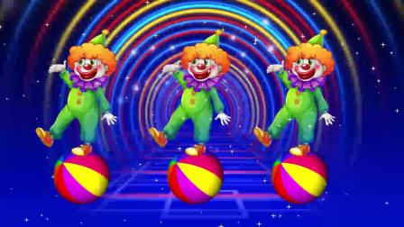 F1990_愚人节马戏团小丑演出舞台视频