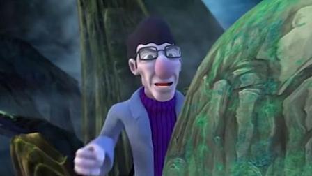 炫迪传奇:菲菲为了逃出能量罩,他要对土狼使激将法